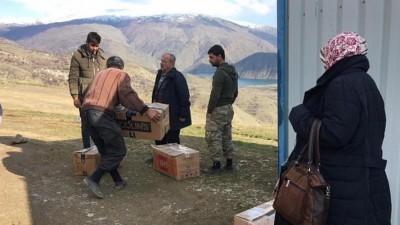 Elazığ'a gönderdiğimiz yardımlar ihtiyaç sahiplerine teslim edildi.